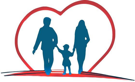 Kinderen gelukkig, ondanks de scheiding